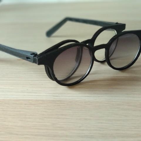 Download free 3D printer model modular glasses, Delli98