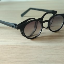 Free 3d print files modular glasses, Delli98