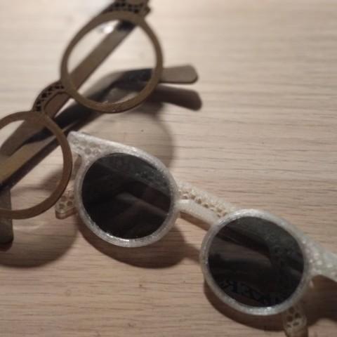 Télécharger fichier imprimante 3D gratuit lunettes personnalisables, Delli98