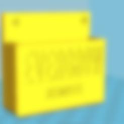 Free STL file Evergrow remote, lorenzo61183