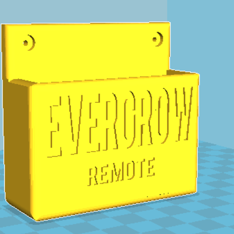 Download free 3D printer designs Evergrow remote, lorenzo61183