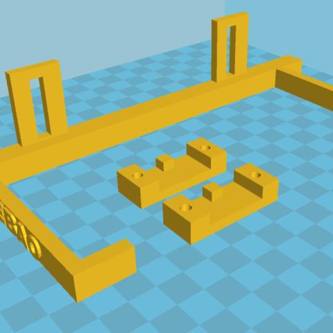 Capture.PNG Download free STL file Jebao dosing pump support • 3D printable design, lorenzo61183