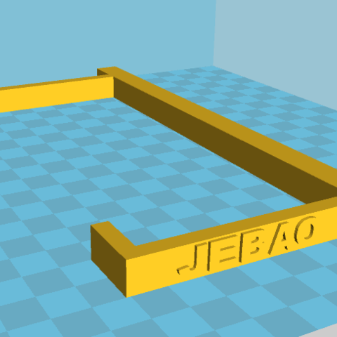 support jebao.PNG Download free STL file Jebao dosing pump support • 3D printable design, lorenzo61183