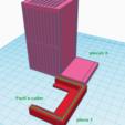 Free 3D printer files food basket for aquarium holder, lorenzo61183