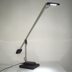 Lampe_Led.jpg Download free STL file LED Office Lamp • Object to 3D print, Nanard