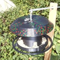 Download free 3D printer files Bird grain dispenser for birds, Nanard