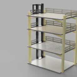 pied centre commercial v40.png Télécharger fichier STL centre commercial pour playmobil • Objet pour impression 3D, jemlabricole