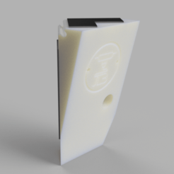 support camera free v16.png Download STL file Freebox Delta camera wall mount • 3D print design, jemlabricole