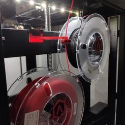 IMG_20200428_091648.jpg Télécharger fichier STL Guide filament Raise3D - filament Guide Raise 3D • Objet à imprimer en 3D, jemlabricole