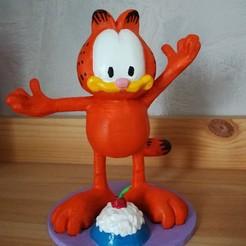 Descargar modelo 3D gratis Garfield, scbr_26