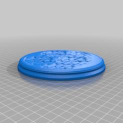 Descargar diseños 3D gratis Bases para figuras, scbr_26