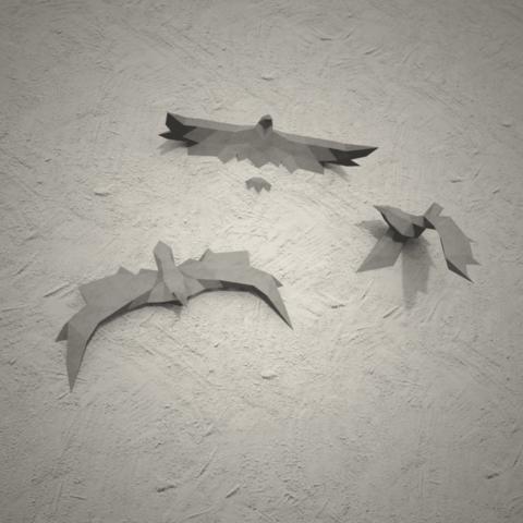 Download 3D printer model Low Poly Birds, vitascky