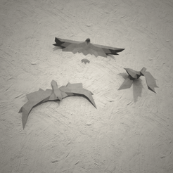 Low Poly Birds 3D model, vitascky