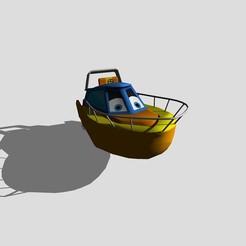 3D printer models Speedboat, scifikid