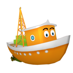 Cargo_boat.png Download STL file cargo boat • 3D printable object, scifikid