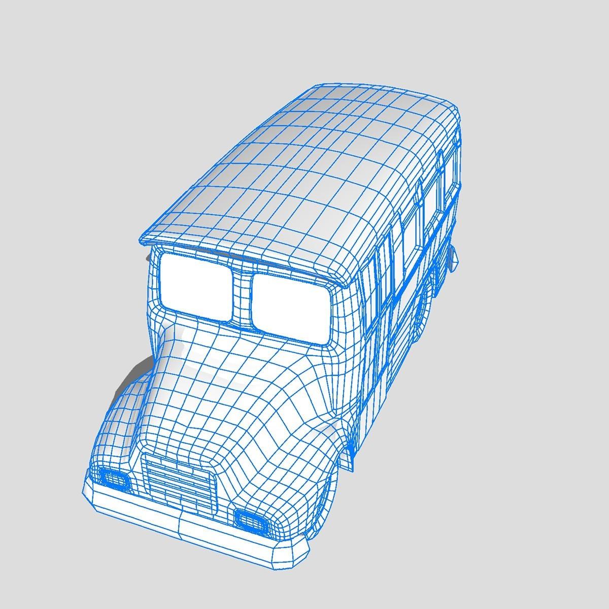 transport_pack_wairframe_0001.jpg Download STL file School Bus • 3D printer design, scifikid