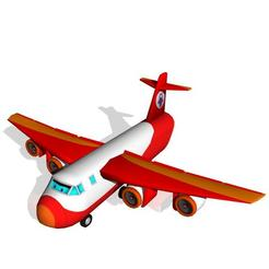 Plan 3D Avion cargo, scifikid