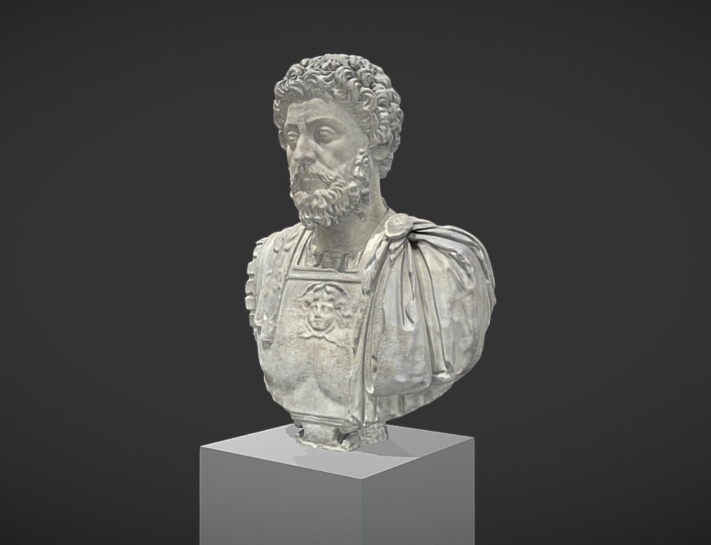 Capture d'écran 2017-11-13 à 14.32.29.png Télécharger fichier OBJ gratuit Buste cuirassé de Marc Aurèle âgé • Modèle pour imprimante 3D, MSR