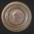 Free stl files Monetary mirror of Nero, MSR