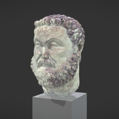 Download free 3D printer model Head of Maximian Hercules, MSR