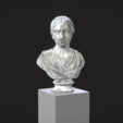 Free 3D file Bust of Tranquillina, MSR