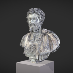 Download free 3D printing designs Bust of Septimius Severus, MSR