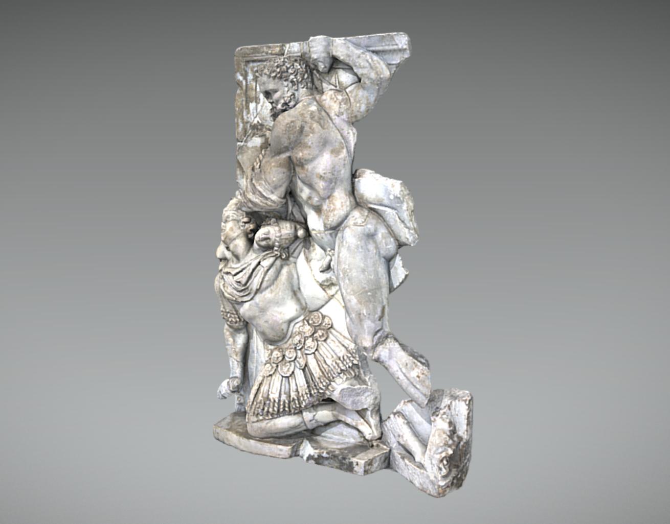 Capture d'écran 2017-11-13 à 15.01.40.png Télécharger fichier OBJ gratuit Hercule tuant Géryon • Objet à imprimer en 3D, MSR