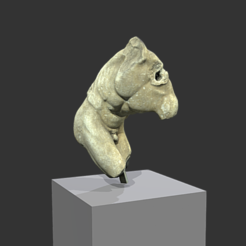 Download free STL discobolus, MSR