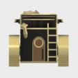 SiegeTank6.PNG Download STL file Steampunk Tank | Tri-Cannon | (.STL file) • Design to 3D print, MF3D