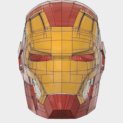 view.jpg Download STL file Iron Man Mark 42  • 3D printing object, SKUPERDIY