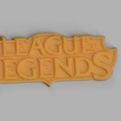 Render.png Télécharger fichier STL gratuit Logo de la Ligue des légendes • Design à imprimer en 3D, SKUPERDIY