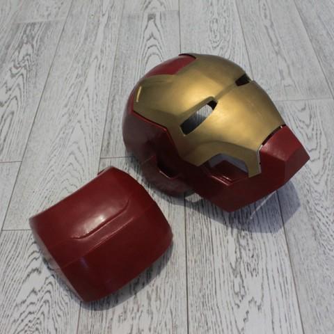 IMG_1154.JPG Download STL file Iron Man Mark 42  • 3D printing object, SKUPERDIY