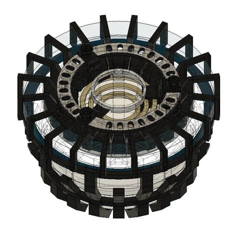 Arc reactor 0.jpg Download STL file Iron Man Arc Reactor • 3D printer design, SKUPERDIY