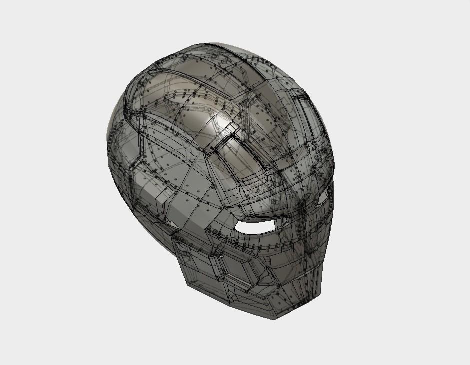 Screen 3D.jpg Download STL file Iron Man Mark 42  • 3D printing object, SKUPERDIY