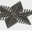 Free 3D printer file 10 Christmas snowflakes, SKUPERDIY