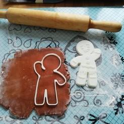 3D print files Gingerbread Man, SKUPERDIY
