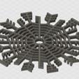 Free 3d printer files 10 Christmas snowflakes, SKUPERDIY