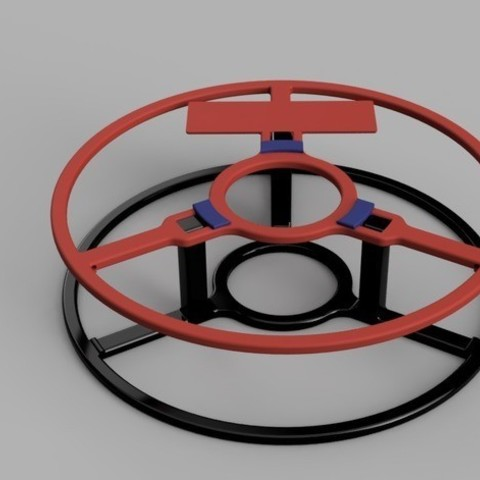 ce23283c79407f3b42dc0d259f4ee6ea_preview_featured.jpg Download free STL file Little MasterSpool Roller + Sticker (fixed stl, multiple versions, including sourcefile) • 3D print template, kleinerELM