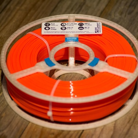 Free 3d print files Little MasterSpool Roller + Sticker (fixed stl, multiple versions, including sourcefile), kleinerELM