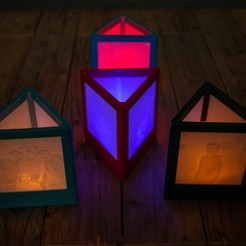 20181219_0381.jpg Download free STL file triangular lithophane lamp • Object to 3D print, kleinerELM