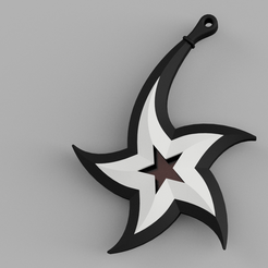 stern.png Download free STL file Bent christmas star • 3D printable template, kleinerELM