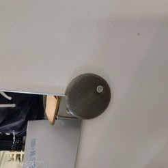 spiegel2.jpg Download free STL file IKEA mirror holder • 3D printer template, DannyH5173
