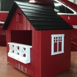 Descargar archivo 3D gratis La lavandera blanca (Motacilla alba alba) casa de pájaros, DannyH5173