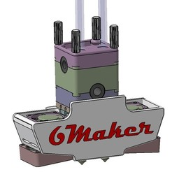 Free 3D printer files UPGRADE UM2, team6maker