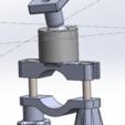 Download free STL file MTB Lamp Holder, GHB • 3D printer object, fab2743
