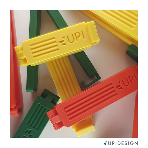 STL Bag Clip, upidesign
