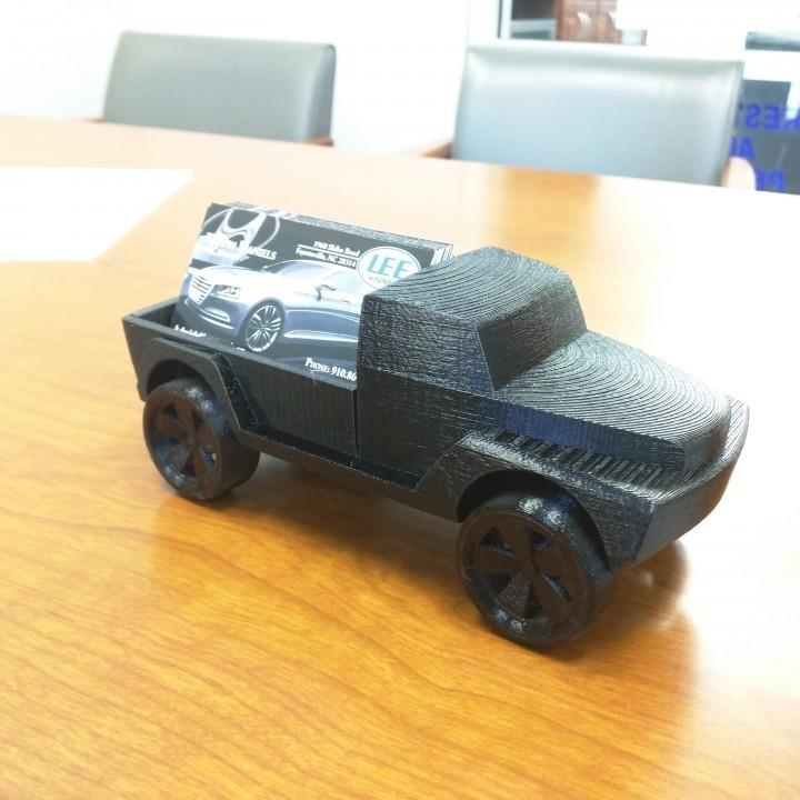 truck.jpg Télécharger fichier STL gratuit Camionnette de jouet • Design à imprimer en 3D, 3DPrintingOne