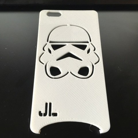 Free Storm Trooper IPhone 6 Plus Case STL file, 3DPrintingOne