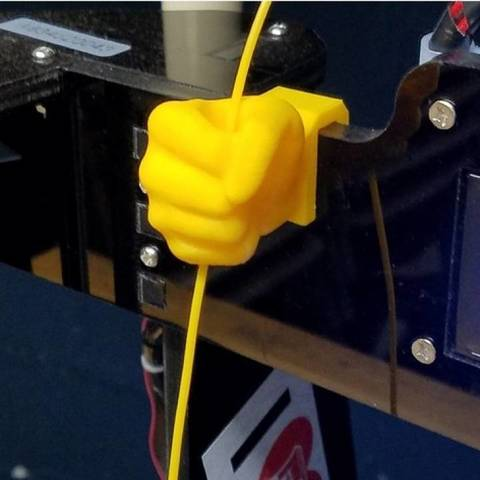 Free 3D Hand Filament Holder 3D model, 3DPrintingOne