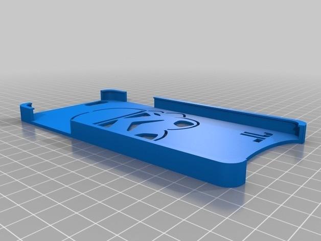 Storm 2.jpg Download free STL file Storm Trooper IPhone 6 Plus Case • 3D printable template, 3DPrintingOne